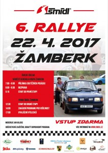 plakát Rallye